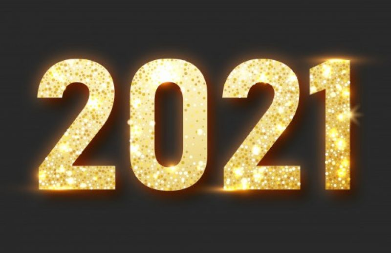 Um feliz e abençoado Ano Novo...