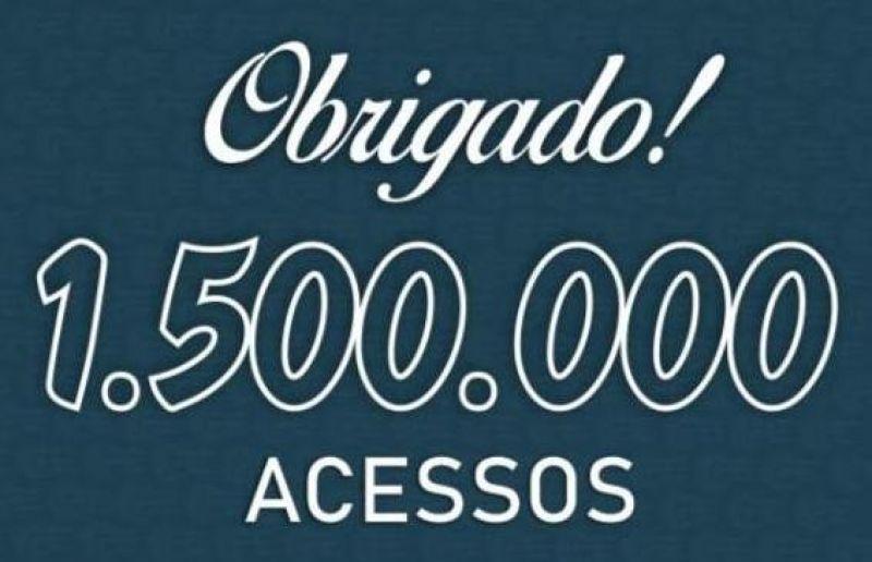 Site Piccolo Esportivo inicia o ano com a marca de 1 milhão e meio de acessos