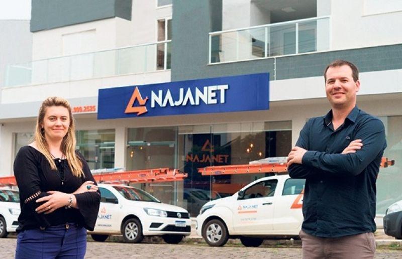 Em nova sala, a empresa NajaNet renova a parceria com o site para 2021