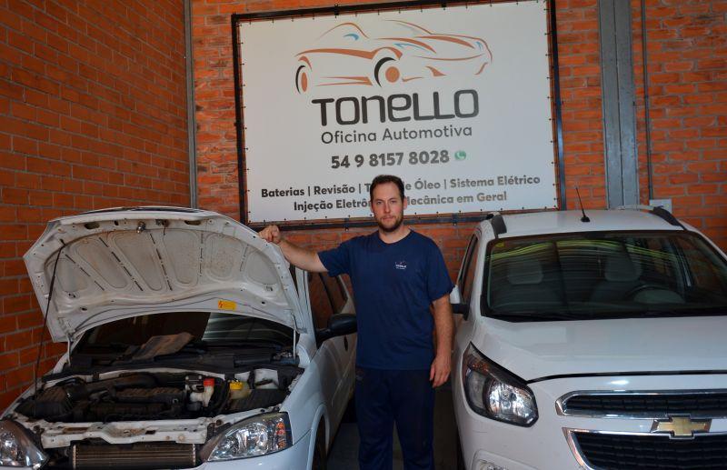 Oficina Automotiva Tonello está em novo endereço e com novidade nos serviços