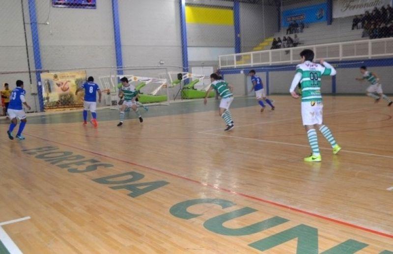 Futsal Juniores de Flores da Cunha será retomado nesta terça-feira, dia 26