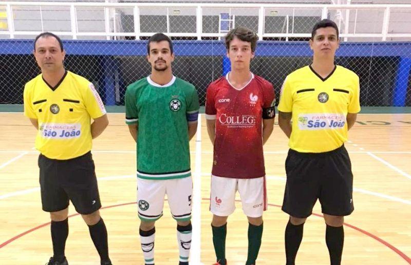 Chave B do futsal juniores define equipes classificadas para as quartas de final