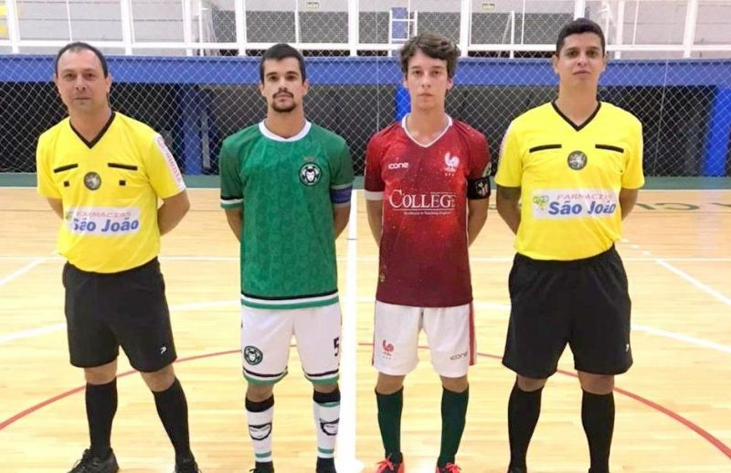 Chave B do futsal juniores define equipes classificadas para as quartas de final