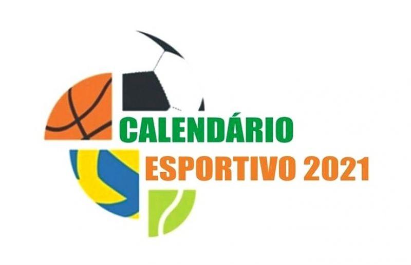 Convite para apresentação do calendário esportivo 2021 de Flores da Cunha