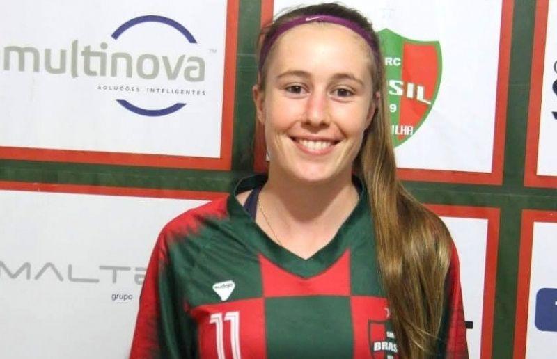 Paduense Bruna Galiotto renova contrato com o Brasil-Fa por mais uma temporada