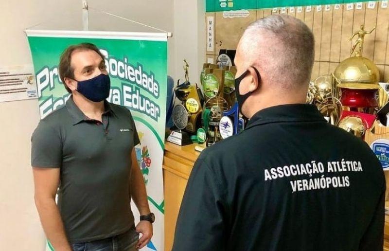 Diretor de Esportes Vagner do Canto visita municípios da Serra Gaúcha