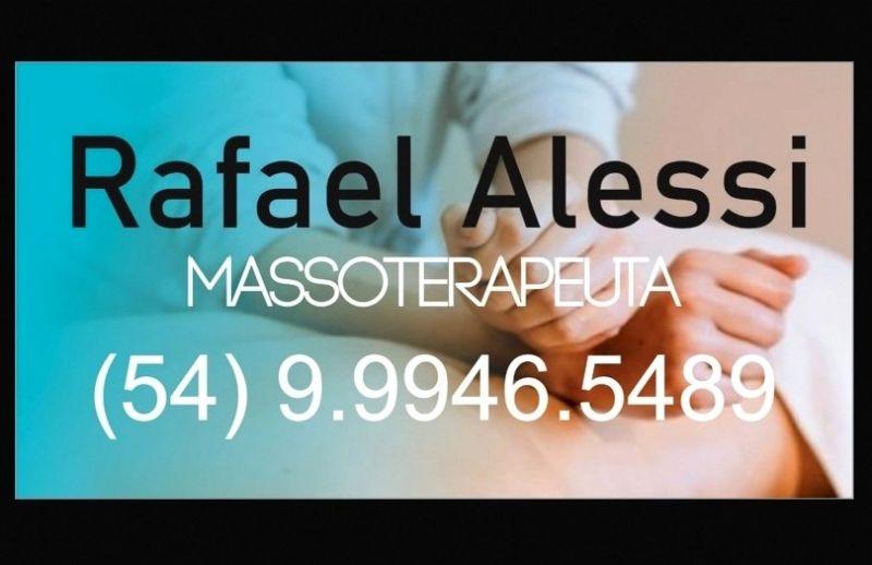 Agende uma massagem a domicílio com o Massoterapeuta Rafael Alessi