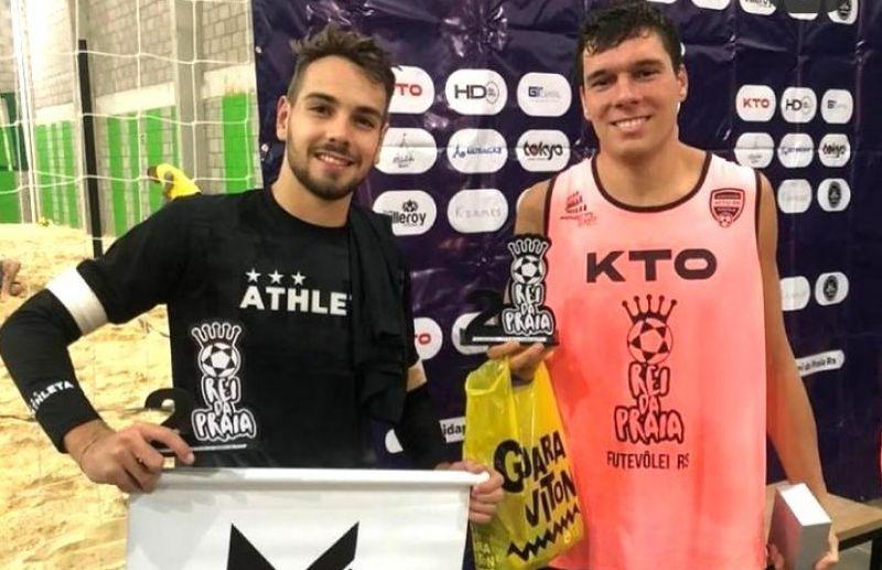 Cesar Fiorio conquista um título e um 2º lugar na disputa do Rei da Praia