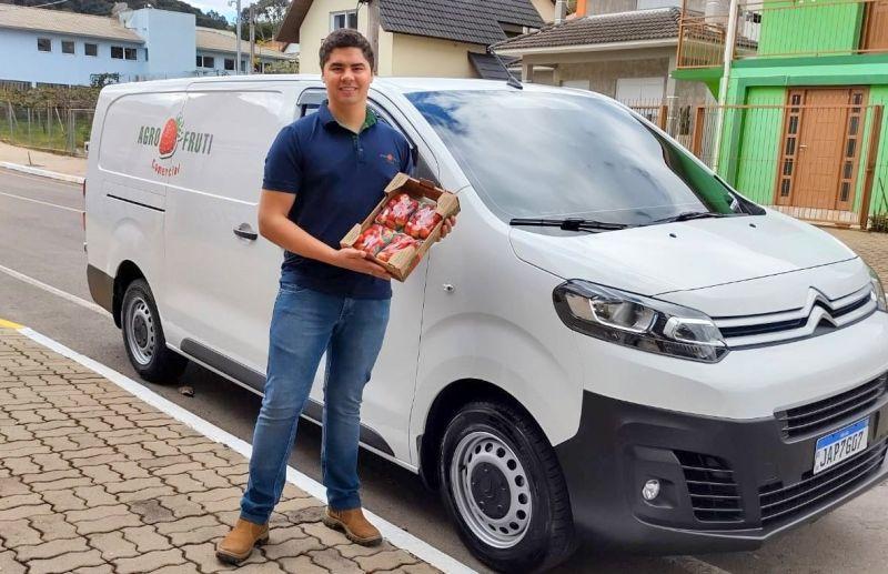 Agro Fruti: experiência e credibilidade na compra e venda de morangos