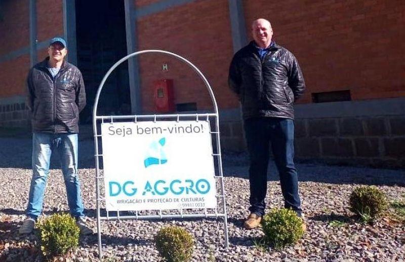 DG AGGRO oferece serviços e produtos para a irrigação da sua cultura
