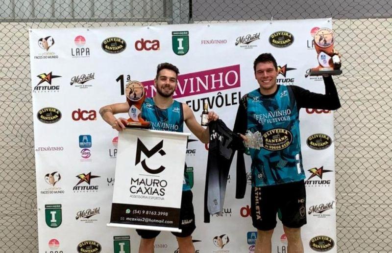 Florense Cesar Fiorio conquista o título da Fenavinho Cup de Futevôlei