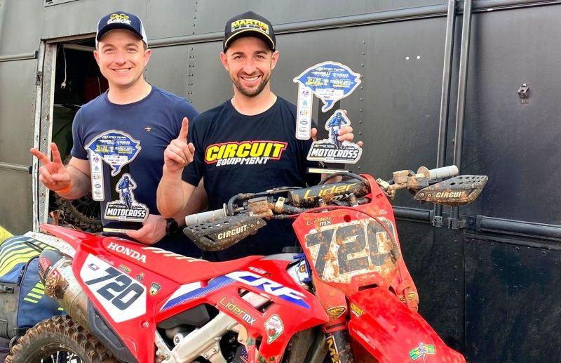 Irmãos Rodrigo e Marcelo Galiotto fazem dobradinha na abertura do Gaúcho de Motocross