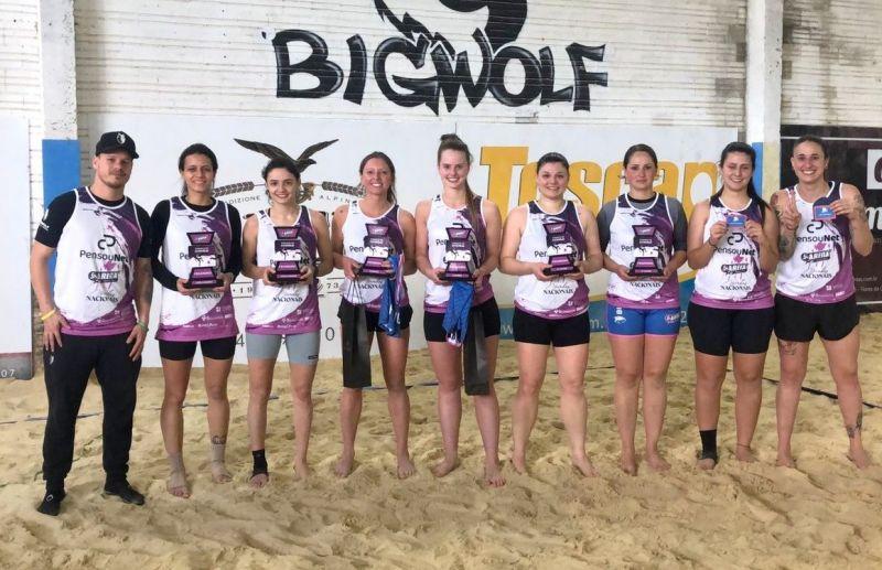 Torneio da Arena Beach Sports mostra a força das mulheres no futevôlei