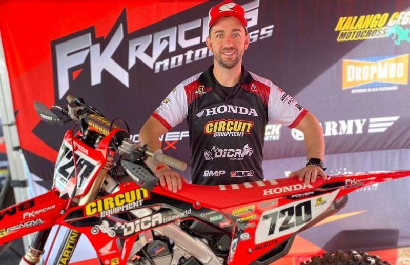 Rodrigo Galiotto estreia no Campeonato Brasileiro de Motocross