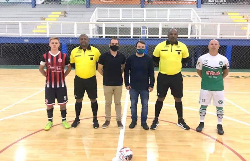 Rodada inaugural do futsal Série Prata de Flores da Cunha teve jogos equilibrados