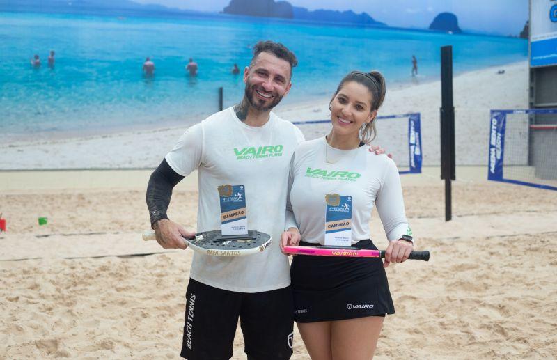 Circuito Serrano de Beach Tennis realizou a 4ª etapa em Bento Gonçalves
