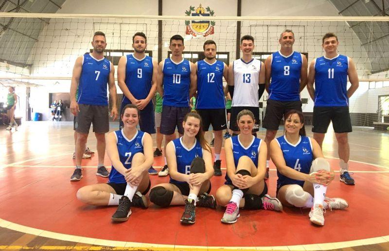 Equipe Cramento participa do torneio de voleibol misto em Igrejinha/RS