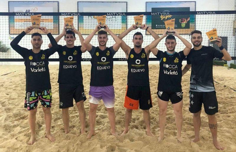 As melhores duplas do futevôlei da Fiorio Esportes de Areia & Funcional