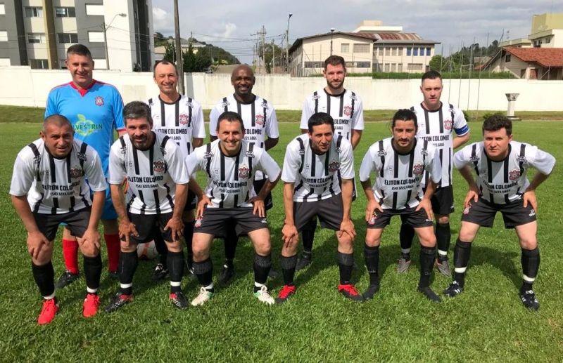Futebol de campo veteranos teve vitória do Corinthians e São José