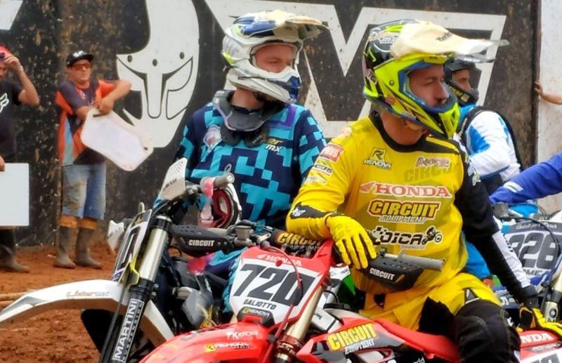 Irmãos florenses participam da 3ª etapa do Campeonato Brasileiro de Motocross