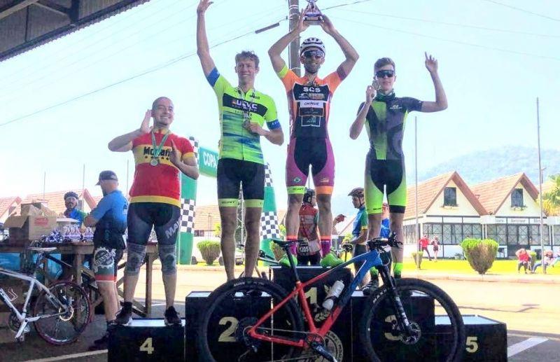 Ciclista florense conquista o 1º lugar em prova de Mountain Bike