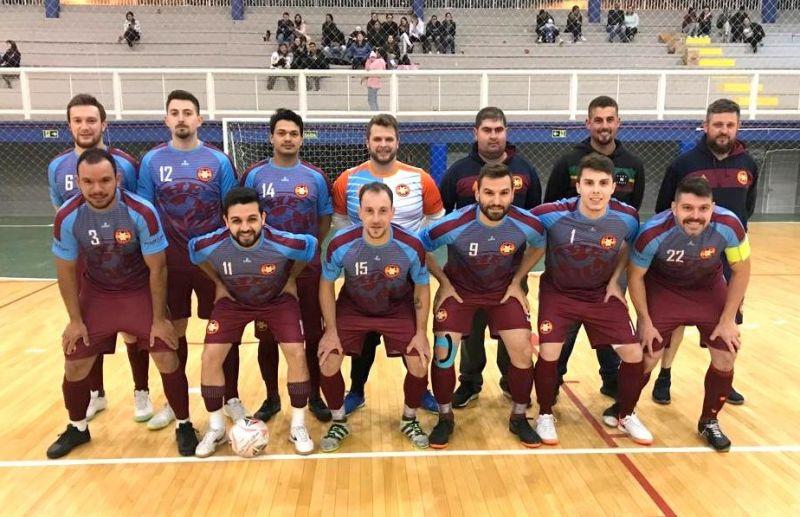 Três equipes dividem a liderança da Série Ouro do futsal florense